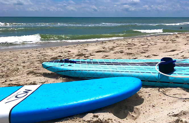 best beach vacations family Wilmington