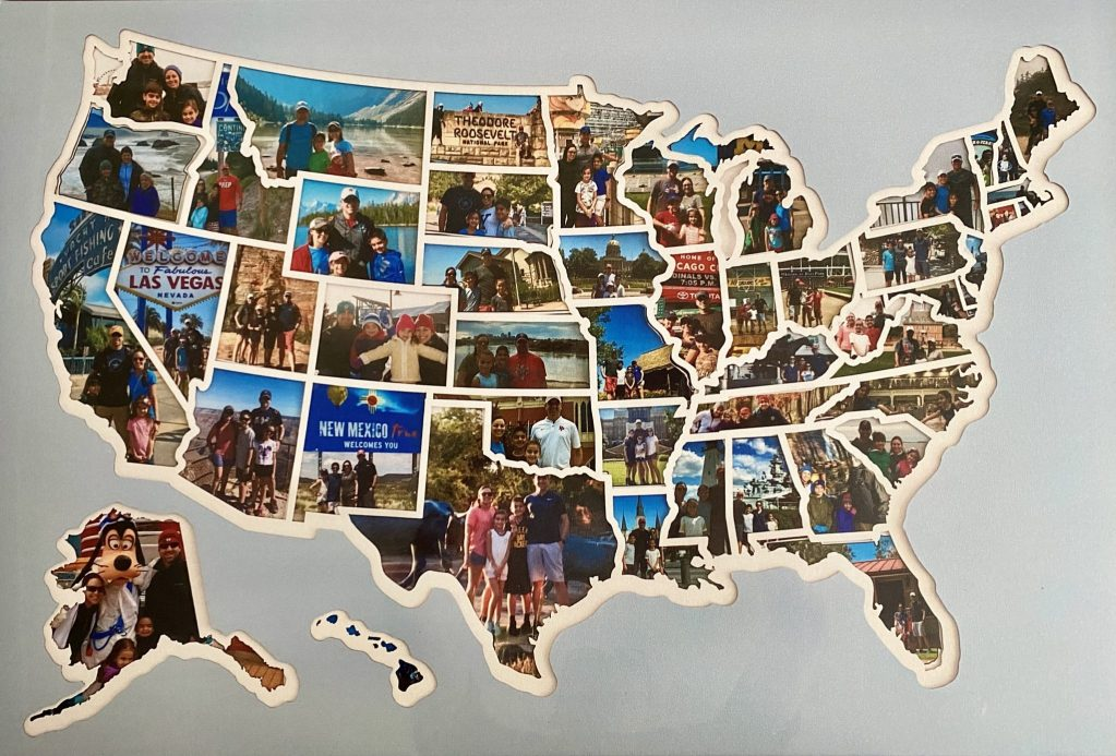 USA Photo Map Completed