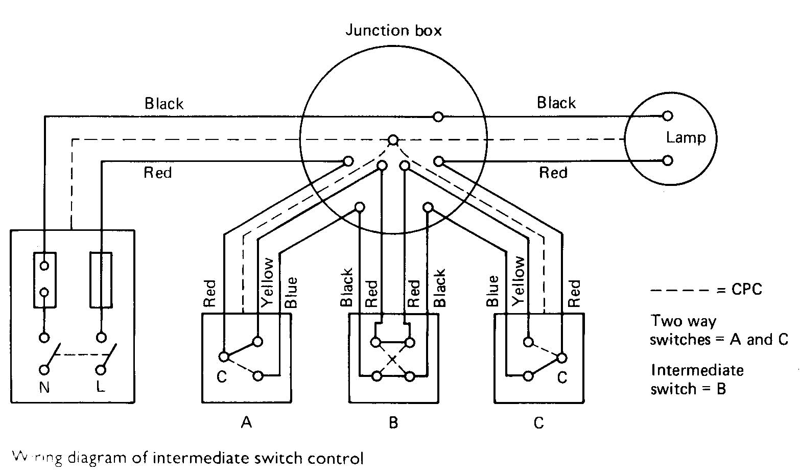 2 Way Lighting Circuit Wiring Diagram Nz