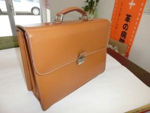 ビジネスバッグ持ち手修理2