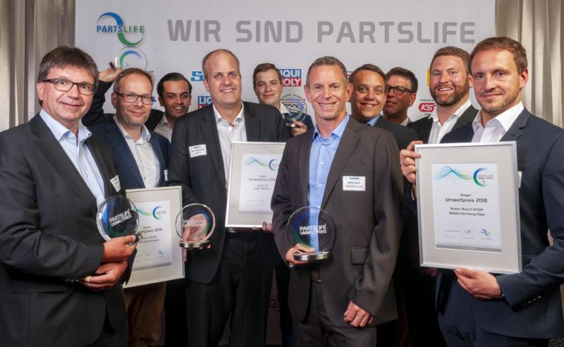 Alle Preisträger Partslife Umweltpreis 2018