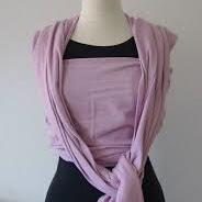 pure baby love essentials pink draagdoek maat 6 huren