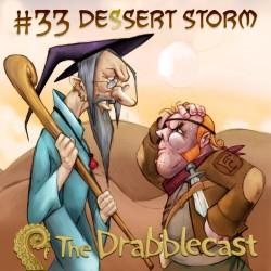 Cover for Drabblecast episode 33, Dessert Storm, by Bo Kaier