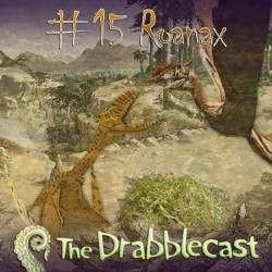 Cover for Drabblecast episode 15, Roanax, by Liz