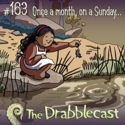 Cover for Drabblecast episode 163, Once a Month on a Sunday, by Caroline Parkinson