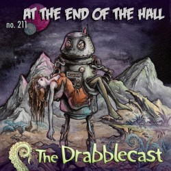 Cover for Drabblecast episode 211, At the End of the Hall, by Michael Hoskins