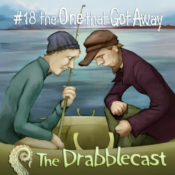 Cover for Drabblecast episode 18, The One That Hot Away, by Bo Kaier