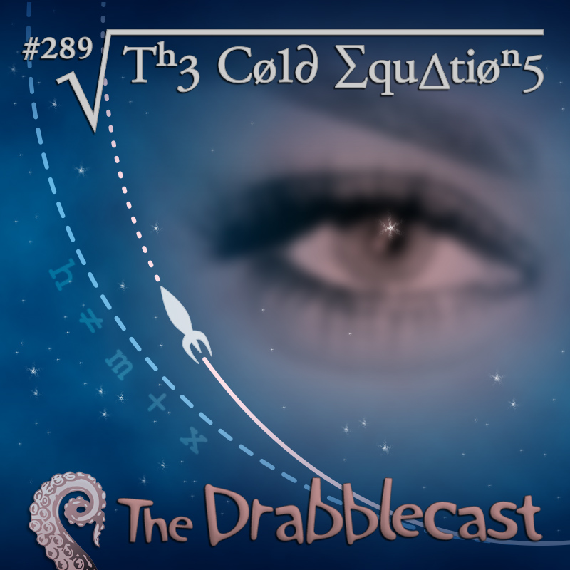 Cover for Drabblecast episode 289, The Cold Equations, by Rodolfo Arredondo