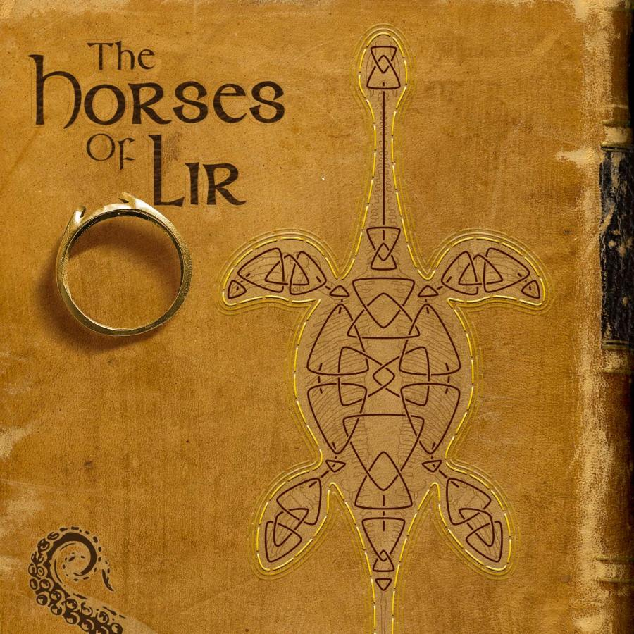 Cover for Drabblecast episode The Horses of Lir by Bo Kaier