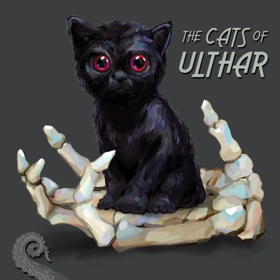 Cover for Drabblecast The Cats of Ulthar by Bo Kaier
