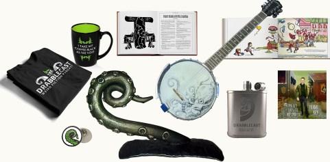 Drabblecast Kickstarter Merch Collage