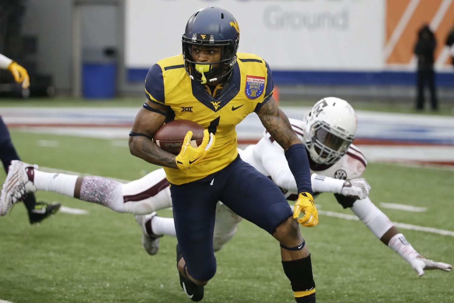 Shelton Gibson, WR, West Virginia