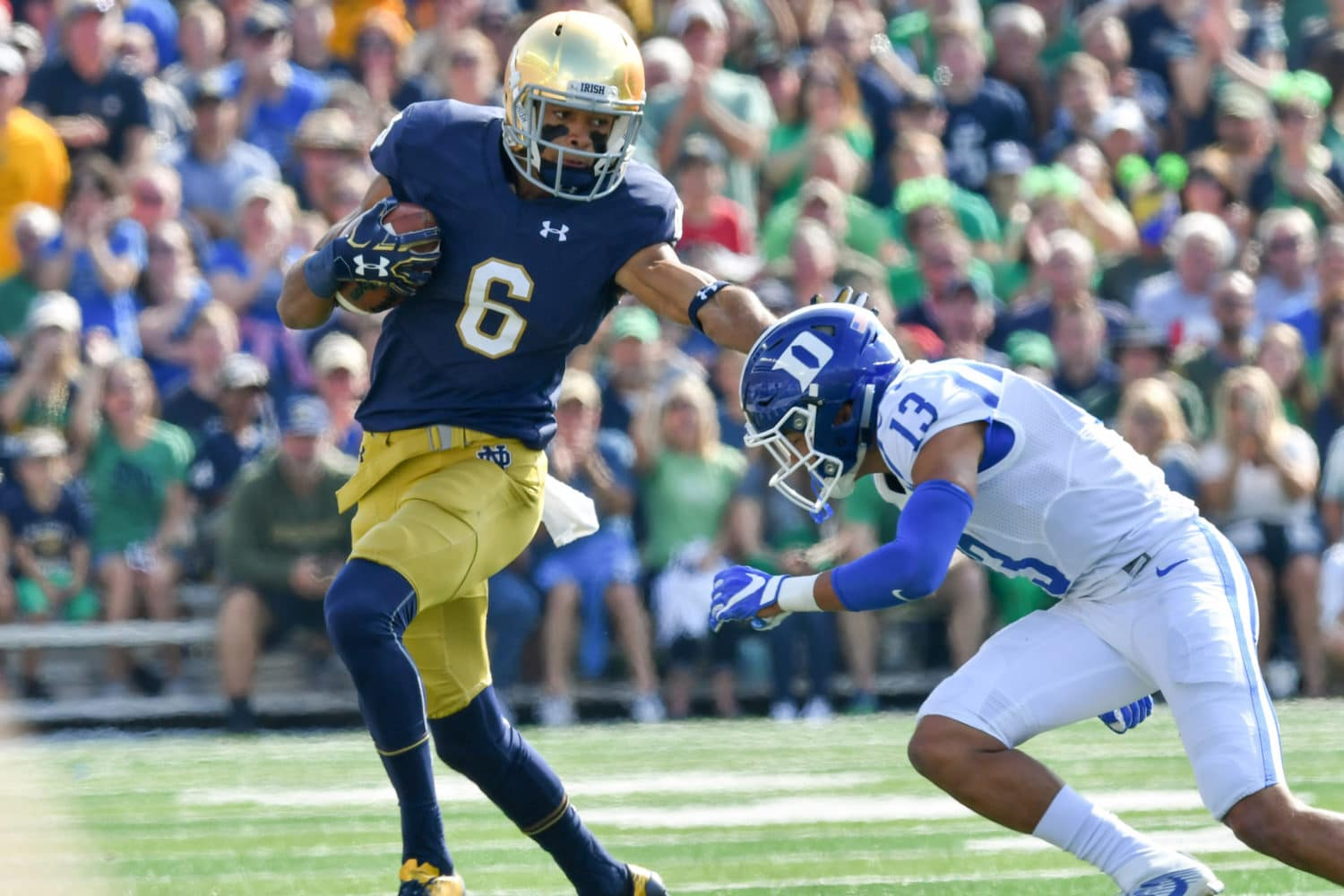 Equanimeous St. Brown, WR, Notre Dame