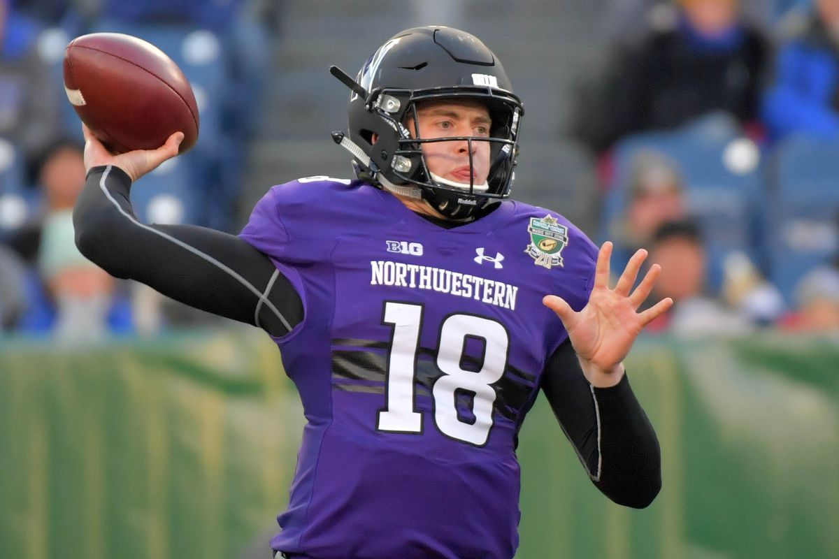 2019 NFL Mock Draft - Clayton Thorson