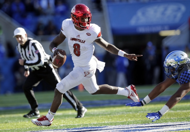 Lamar Jackson: Quarterback or Wide Receiver?