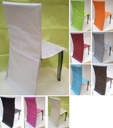 10 housses de chaises tissu intisse colore a 0 70 piece