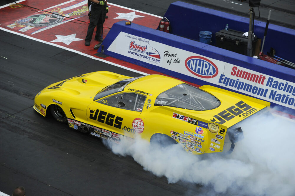 SECOND STRAIGHT WIN IN SIGHTS FOR NHRA PRO MOD DRAG RACING