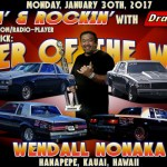 Wendall Nonaka is JB's Pick for Racer of the Week: January 30th!