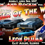 Leon Plumb is JB's Pick for Racer of the Week: April 3rd!
