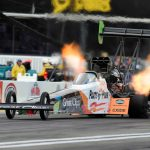 TOP FUEL VETERAN CLAY MILLICAN REMAINS CONFIDENT FIRST WIN COMING APPROACHING DENSO SPARK PLUGS NHRA NATIONALS