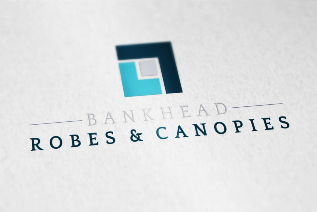 Bankhead Robes & Canopies Logo Design