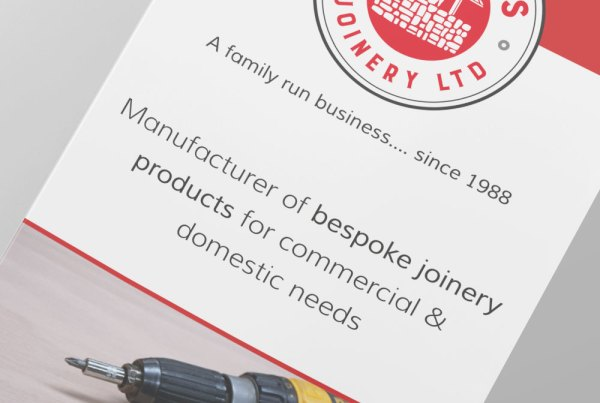 Redwells Joinery Flyer Design