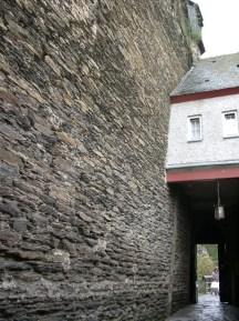 Der Ausgang der Burg