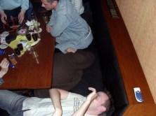 oder sind das die Auswirkungen des Alkohols ?
