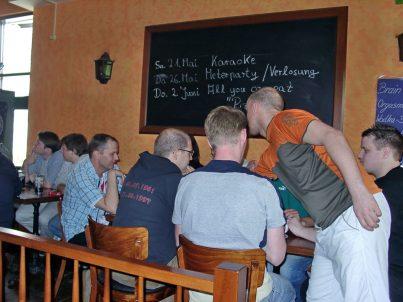 Treffen bei Schleicher im Pub