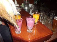 Bunte Drinks