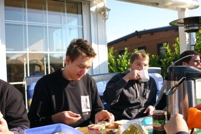 Frühstück mit Elo und Lord