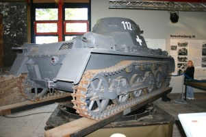 Panzer Nr. 112 in Munster