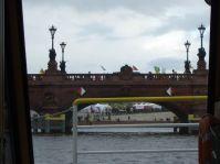 Anti-Atom Demo auf der Moltkebrücke