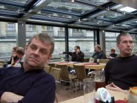 Dampferfahrt durch Berlin mit Peter und Faxe
