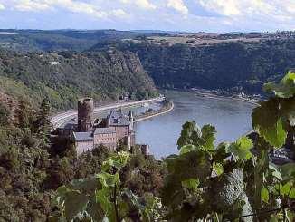 Castillo medieval Katz, Valle del Rin