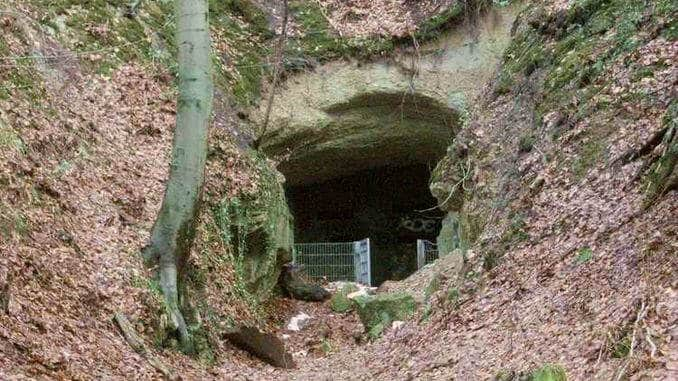 Ofenkaulen, mina abandonada, Siebengebirge, Königswinter