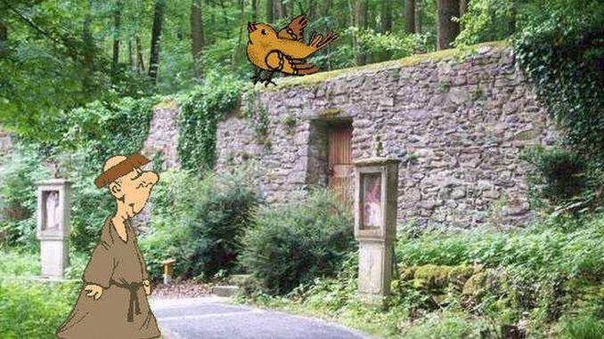 Contes des Siebengebirge, le moine de Heisterbach