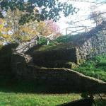 Ruine du château fort médiéval Rosenau, Siebengebirge, Königswinter