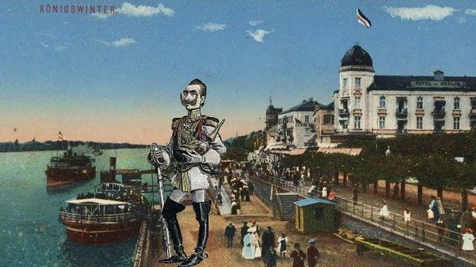 Siebengebirge histoire, le temps de Guillaume II