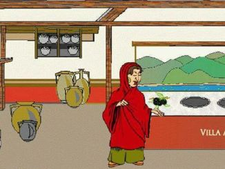Siebengebirge historie, Empire romain, Cuisine de rue romaine