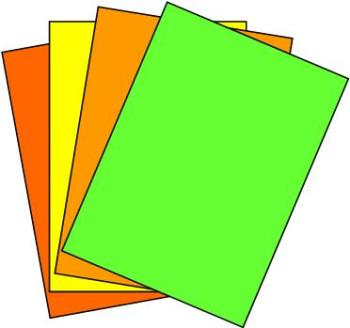 A4 Fluorescent Labels