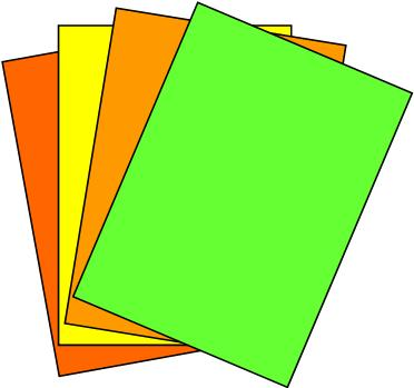 A4 Fluorescent Labels