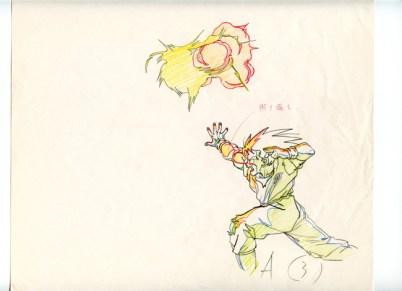 Genga - Son Gokû 1er Genkidama - 3