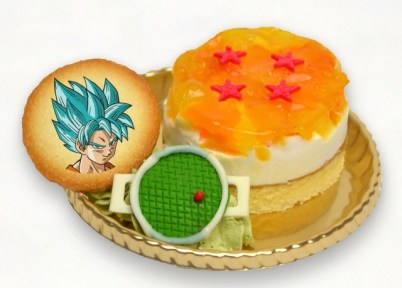 Plat à base de Dragon Ball