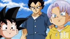 Goten, Vegeta et Trunks