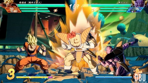 Ginyū dans Dragon Ball FighterZ