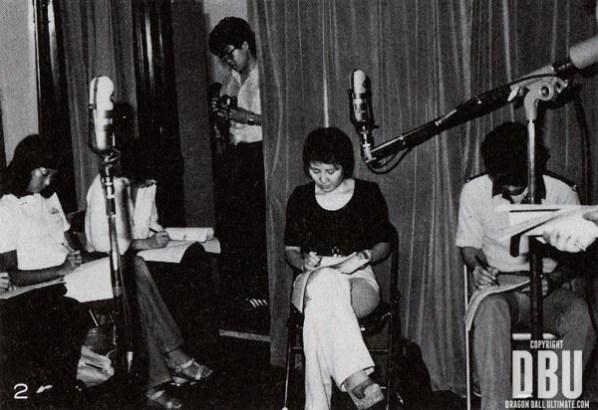 Masako Nozawa, à ses débuts