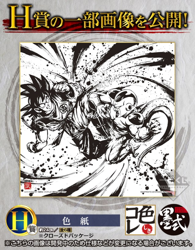 Exemple de Shikishi (Lot H)