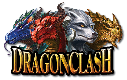 Dragon Clash   A Strategy Game of Dragon Combat Dragon Clash is the exciting card game of strategic dragon combat  Within  each deck you control a mighty beast of legend  raising a dragon from  hatchling to