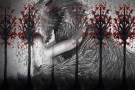 Roodkapje en de wolf, kunstwerk door Esther Liebregts